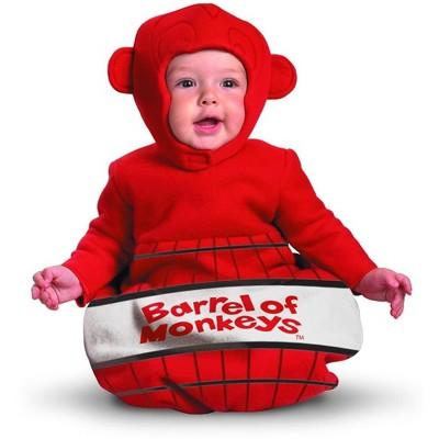 Disguise Barrel Of Monkeys Bunting Costume Infant
