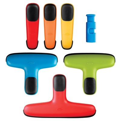 OXO 7pc Clip Set