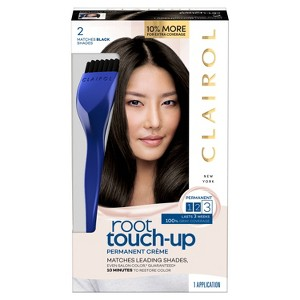 Clairol Root Touch-Up Permanent Hair Color - 2 Black - 1 Kit