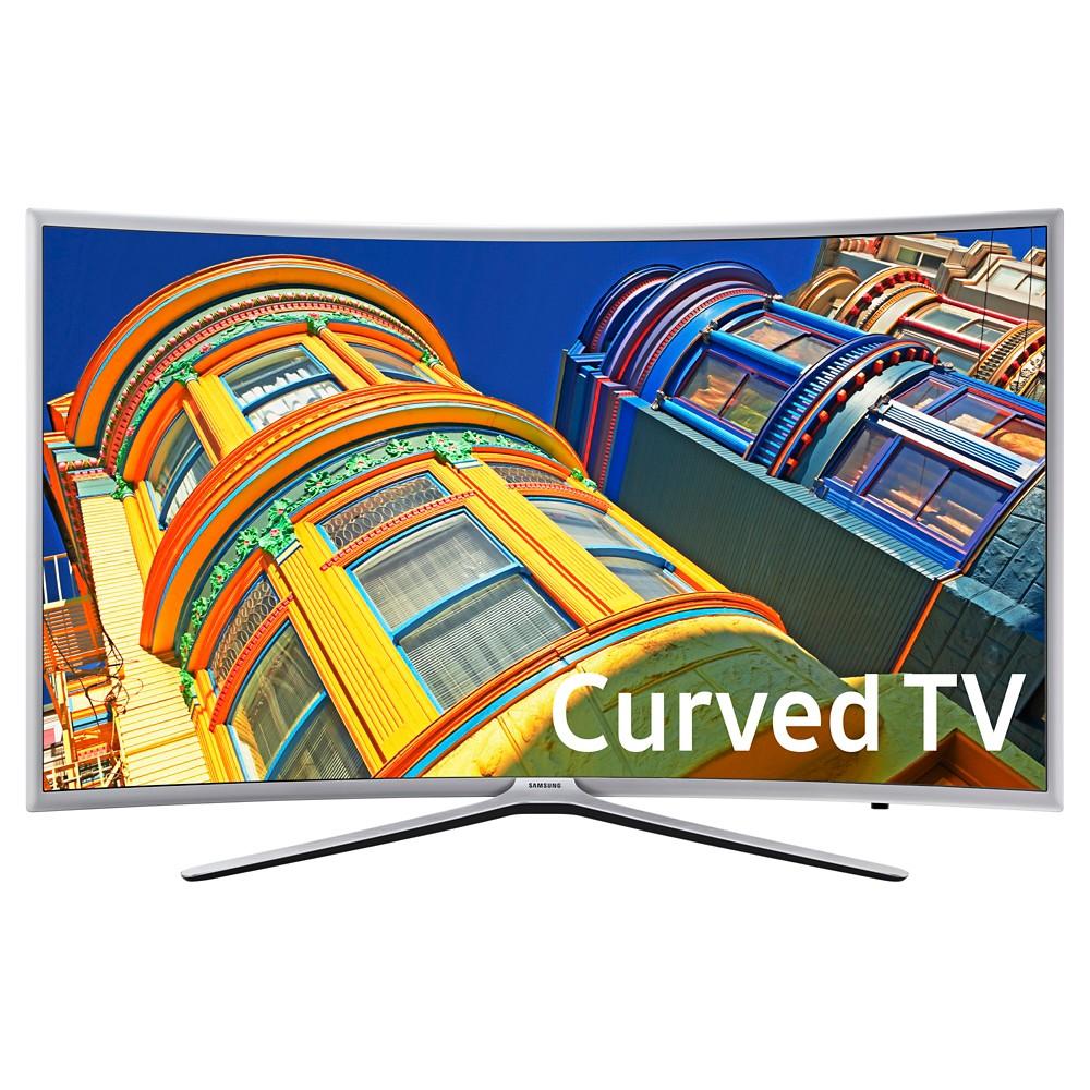 "Samsung 49"" Curved 1080p 120hz Flat Panel Smart LED TV - Black (UN49K6250FXZA)"