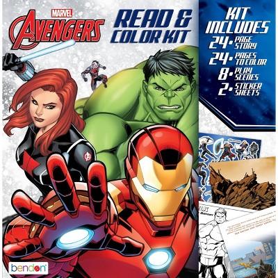 Avengers Read & Color Kit