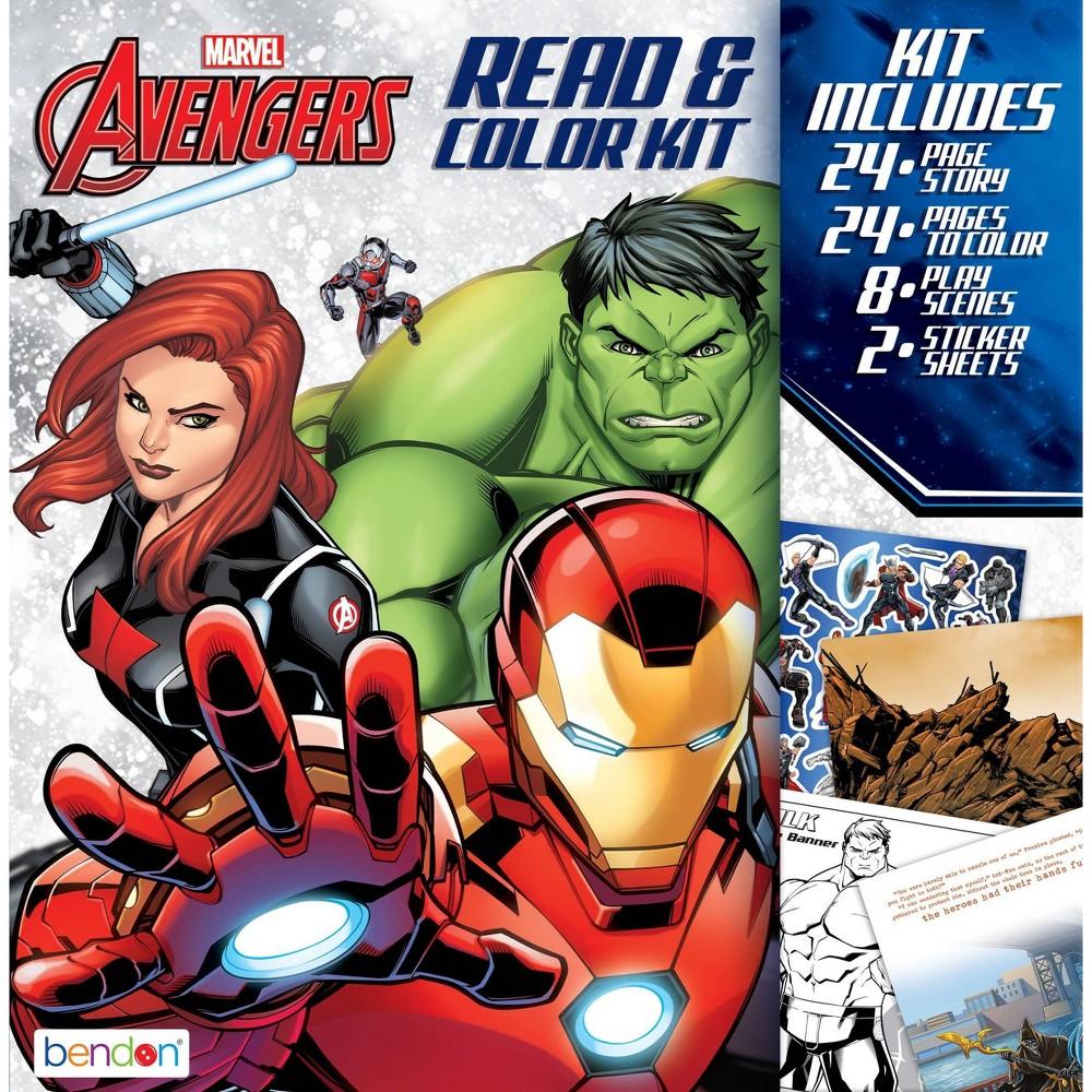Avengers Read 38 Color Kit