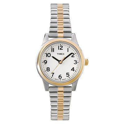 Women's Timex Expansion Band Watch - Two-Tone T2N0689J