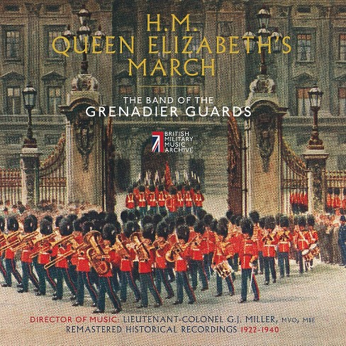 Band of the grenadie - Hm queen elizabeth's march (CD) - image 1 of 1