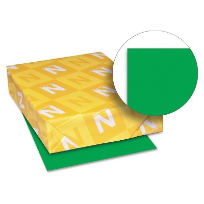 Neenah Paper Astrobrights Colored Paper 24lb 8-1/2 x 11 Gamma Green 500 Sheets/Ream 22541