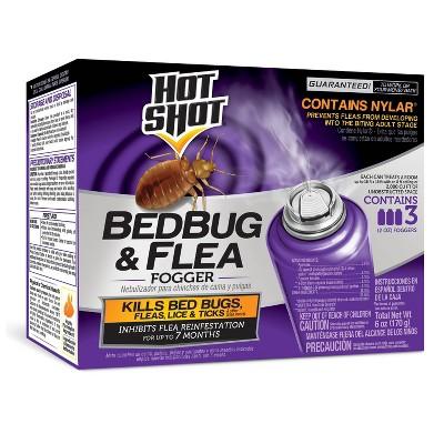 Hot Shot Bedbug & Flea Fogger - 2oz/3ct