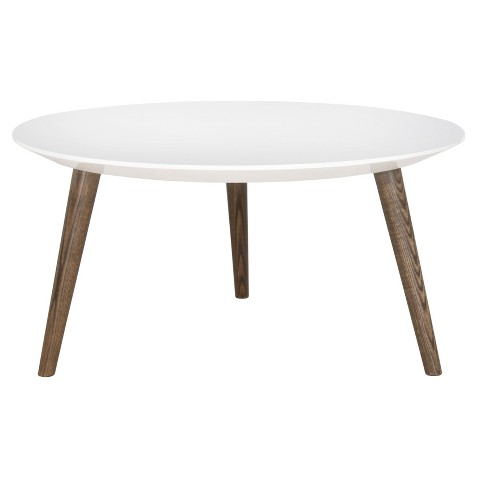 Josiah Accent Table White/Brown - Safavieh® - image 1 of 3