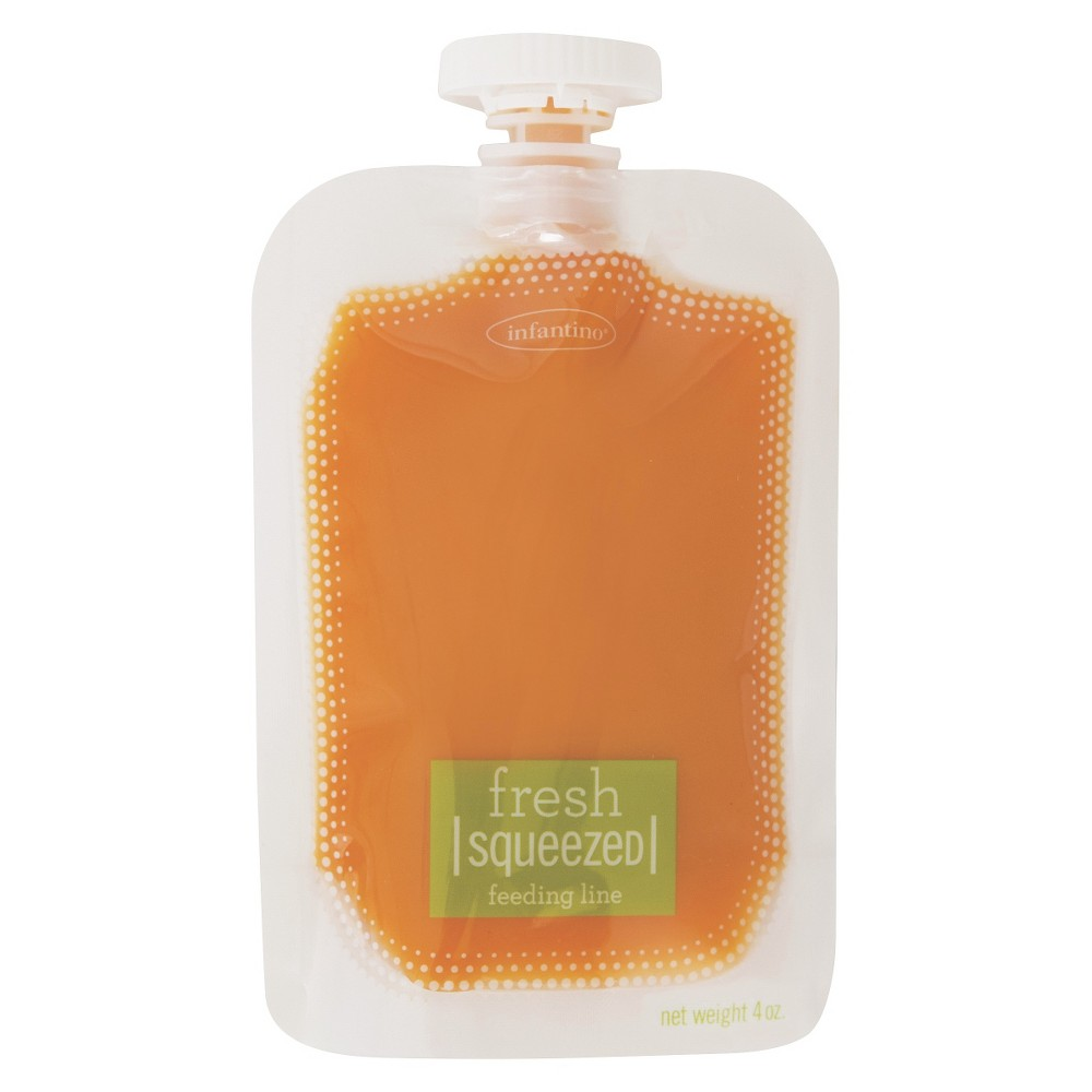 Infantino Fresh Squeezed - Squeeze Pouches (50 Pack)