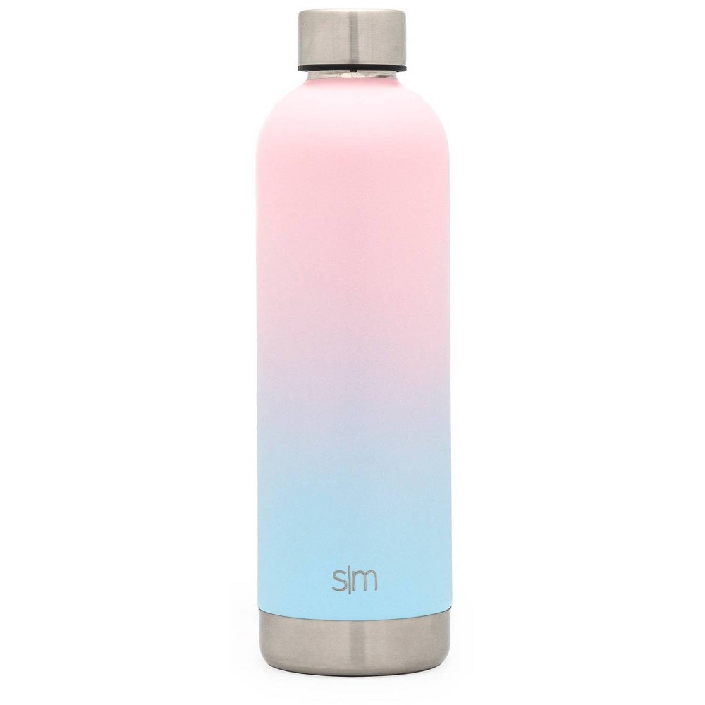 Image of Simple Modern 25oz Stainless Steel Bolt Water Bottle Light Pink