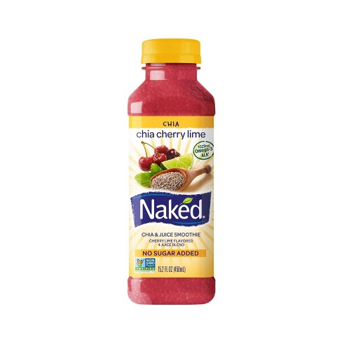 Naked Chia Cherry Lime Juice Smoothie - 15.2oz - image 1 of 1