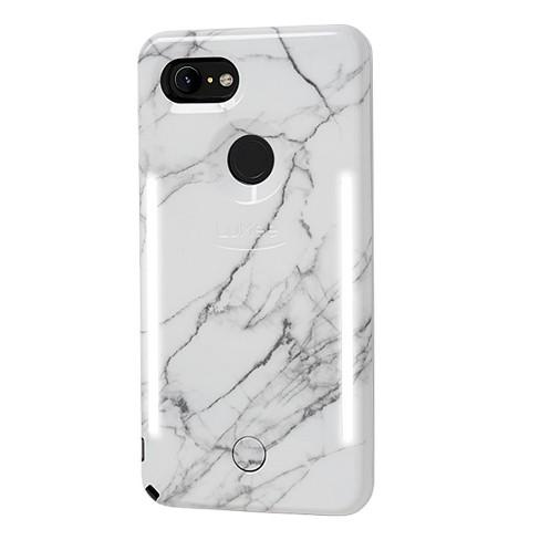the best attitude a8b38 0c9c9 LuMee Google Pixel 3 XL Duo Marble Case - White