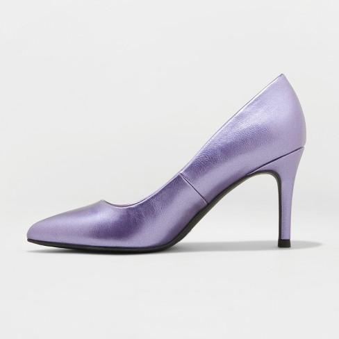0e4192c0e59 Women s Gemma Wide Width Faux Leather Pointed Toe Heeled Pumps - A ...