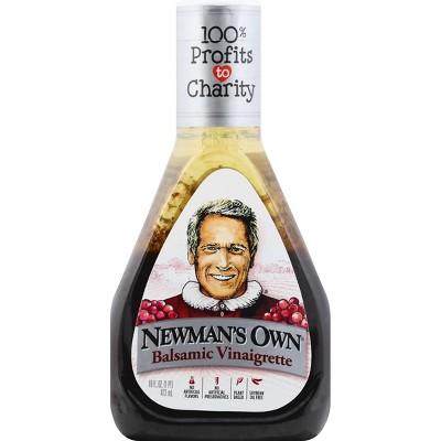 Newman's Own Balsamic Vinaigrette - 16 fl oz