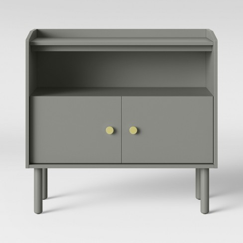 Wiley 2 Door Accent Cabinet Gray - Project 62™ - image 1 of 4