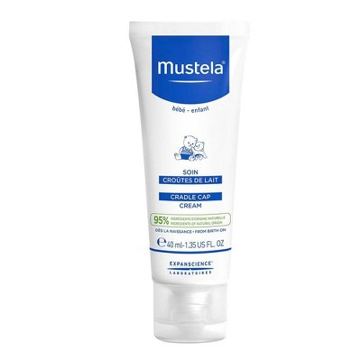 Mustela Fragrance Free Baby Cradle Cap Cream - 1.35 fl oz