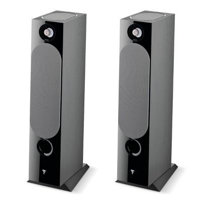 Focal Chora 826-D Floorstanding Speakers with Built-In Dolby Atmos Modules - Pair (Black)