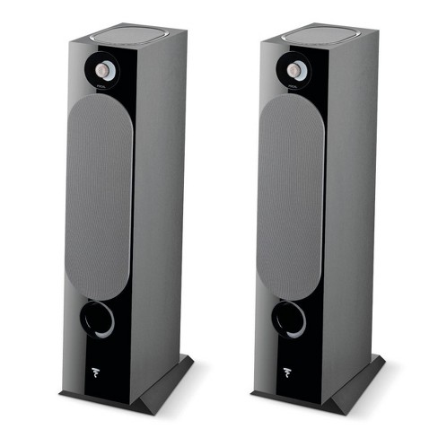 Focal Chora 826-D Floorstanding Speakers with Built-In Dolby Atmos Modules - Pair (Black) - image 1 of 4