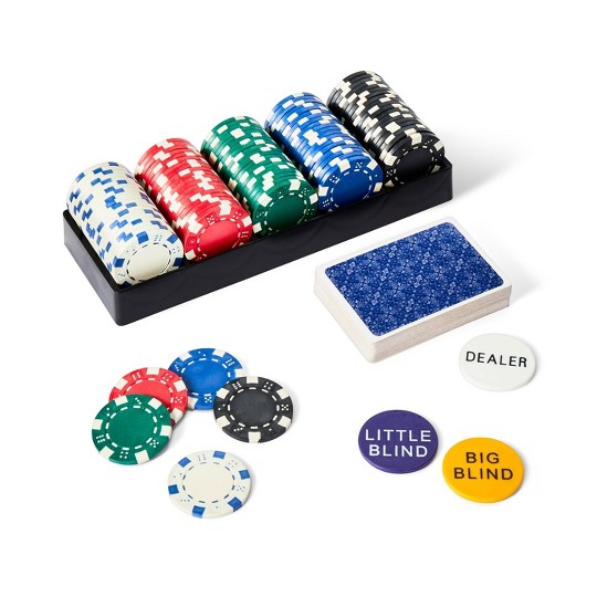 400pc Poker Game Set, board games image number null