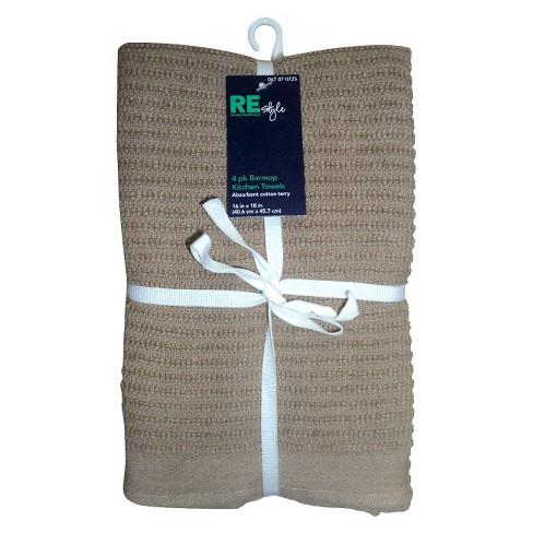 Bar Mop Kitchen Towel Set Of 4 Room Essentials