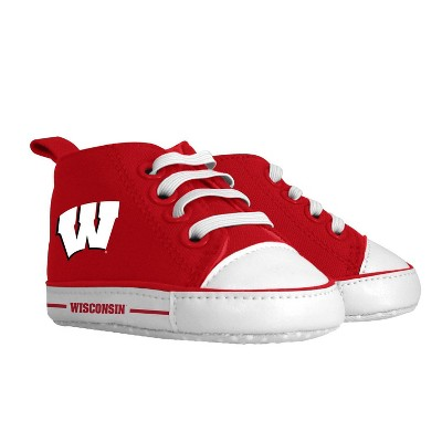 NCAA Wisconsin Badgers Pre-Walkers Baby Shoes