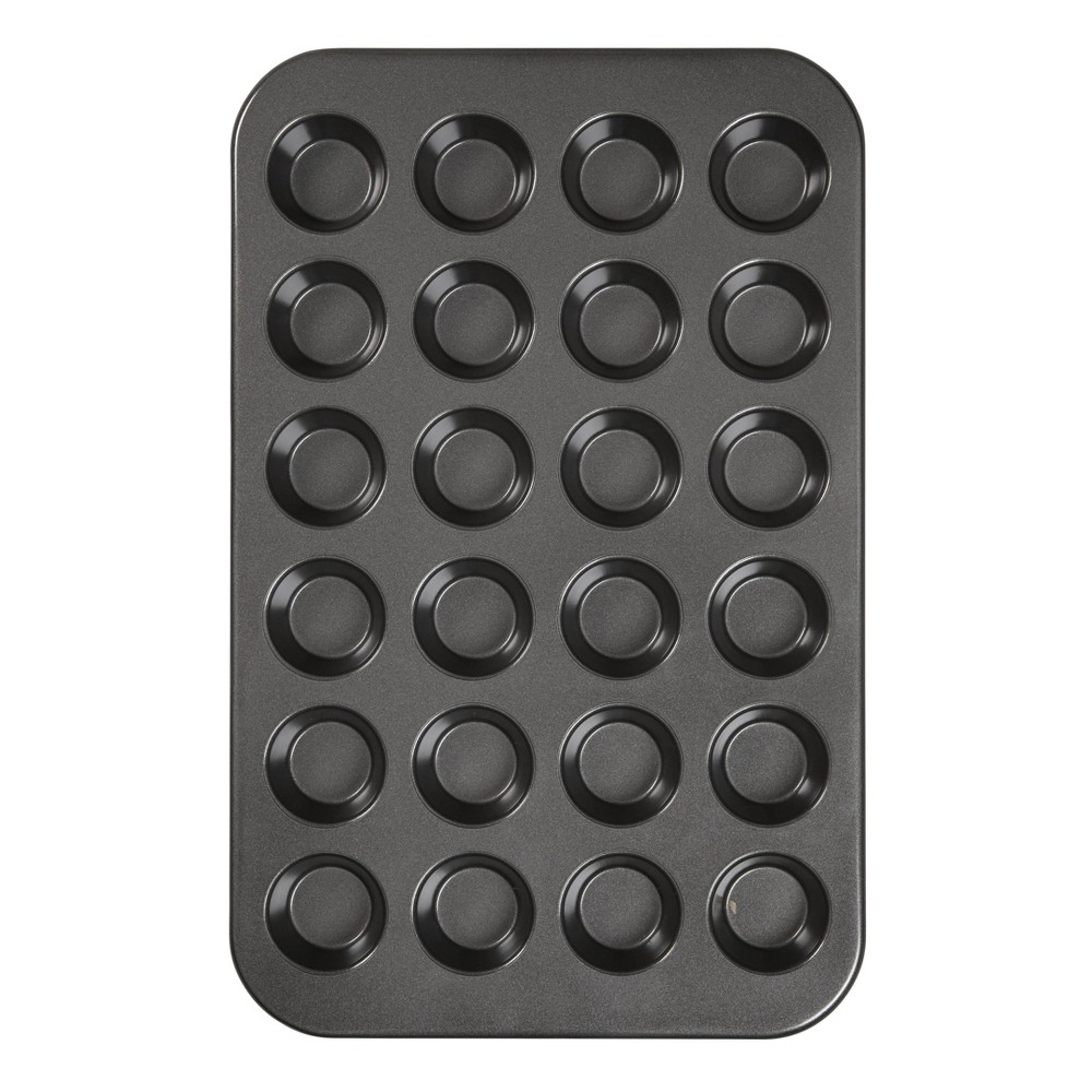Image of Wilton Ultra Bake Professional 24 Cup Nonstick Mini Muffin Pan