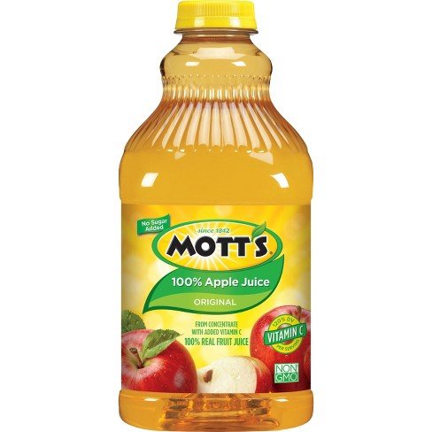 Mott's 100% Original Apple Juice - 64 fl oz Bottle - image 1 of 2