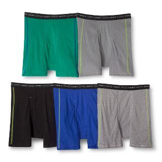 Hanes Mens 5pk Boxer Briefs - Colors May Vary L
