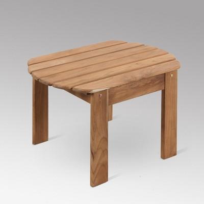 Sherwood Teak Adirondack Side Table - Light Brown - Cambridge Casual