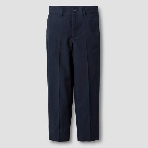 Boys' Suit Pants - Cat & Jack™ Navy - image 1 of 3