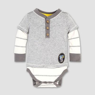 Burt's Bees Baby® Baby Boys' Wild 2fer Bodysuit - Eggshell 3-6M