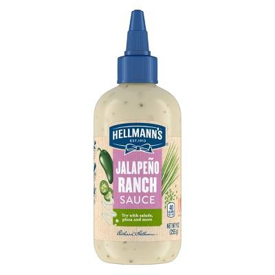 Hellmann's Jalapeno Ranch Sauce - 9oz