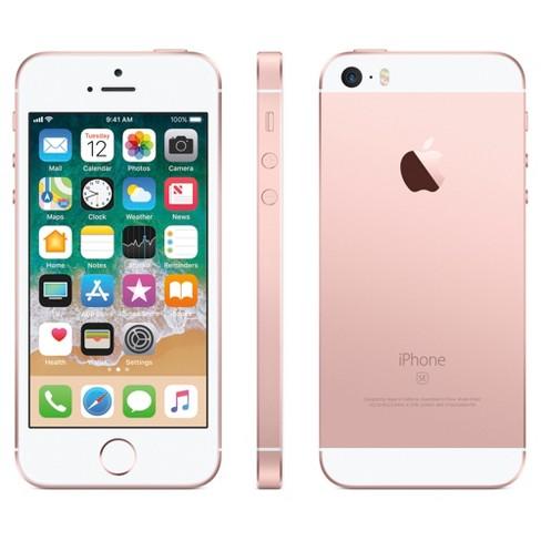 Højmoderne Apple® IPhone SE 32GB - Rose Gold : Target SP-05