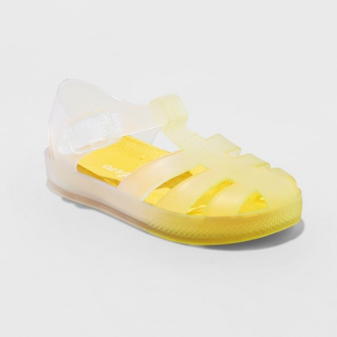 Toddler Boys' Terrance Water Shoes - Cat & Jack™ Yellow - image 1 of 3