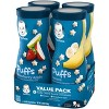 Gerber Puffs 4pk Variety Pack Strawberry-Apple & Banana - 5.92oz - image 2 of 4