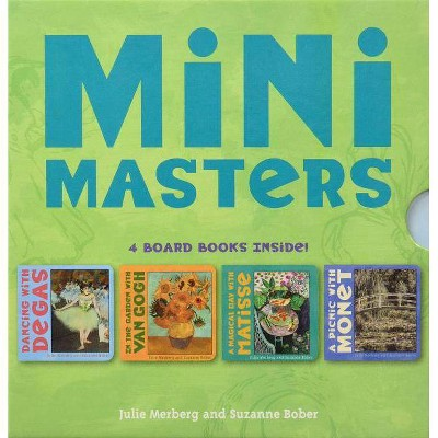 Mini Masters Boxed Set (Baby Board Book Collection, Learning to Read Books for Kids, Board Book Set for Kids)- by Julie Merberg & Suzanne Bober