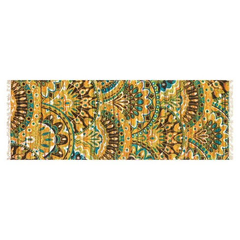 "Loloi Aria Accent Rug - Green/Yellow (1'9""X5') - image 1 of 1"