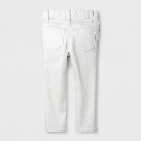 e5ca1573a Toddler Girls' Genuine Kids® From OshKosh Skinny Jeans - Fresh White ...