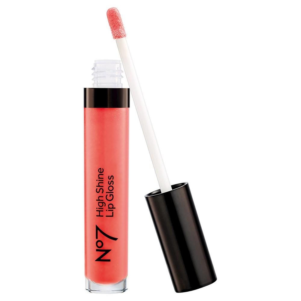 No7 High Shine Lip Gloss Just Peachy - .30oz