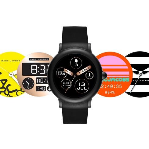 dd7ca56dabd Marc Jacobs Smartwatch - Riley 42mm Touchscreen Black   Target