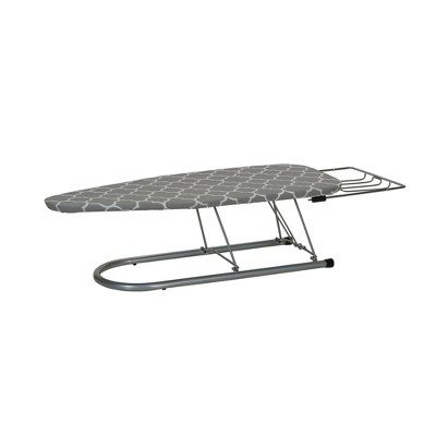 Household Essentials Tabletop Ironing Board, Silver