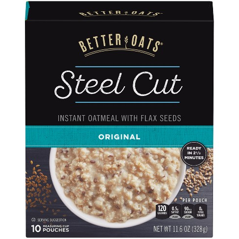 Better Oats Steel Cut Original - 11.6oz - image 1 of 3