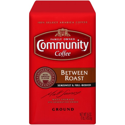 Community Coffee Between Roast Medium Roast Ground Coffee - 16oz - image 1 of 6