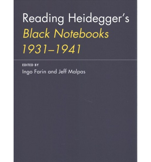 Reading Heidegger's Black Notebooks 1931--1941 -  Reprint (Paperback) - image 1 of 1