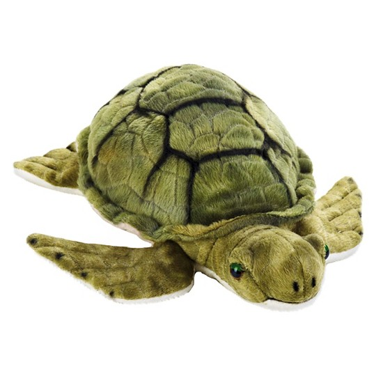 Lelly National Geographic Marine Turtle Hand Puppet image number null