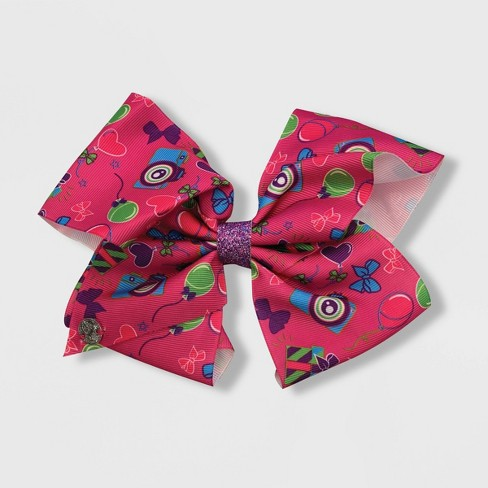 Girls' JoJo Siwa Gifts and Cameras Bow Hair Clip - image 1 of 1