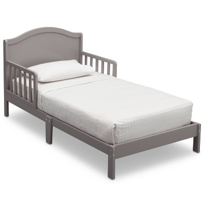 Delta Children Baker Platform Toddler Bed - Gray