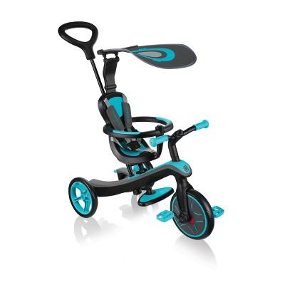 Globber 4 in 1 Explorer Trike - Teal Blue