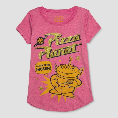 Girls Toy Story Pizza Planet Short Sleeve T Shirt Target