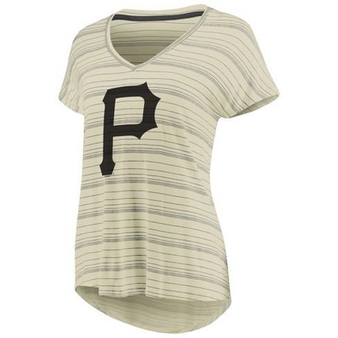 Mlb Pittsburgh Pirates Women S Starting Strong Cream Versalux T