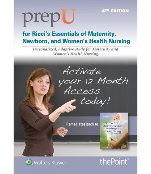 Prepu for Ricci's Essentials of Maternity, Newborn, and Women's Health Nursing - 12 Month Access Card : - image 1 of 1
